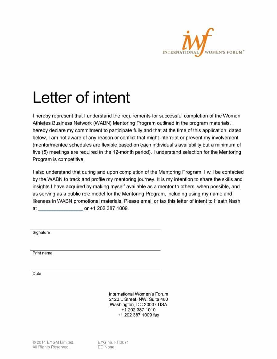 compassion letter writing template Collection-Visit our page to learn how to write a letter of intent and letter of intent examples & templates 7-q