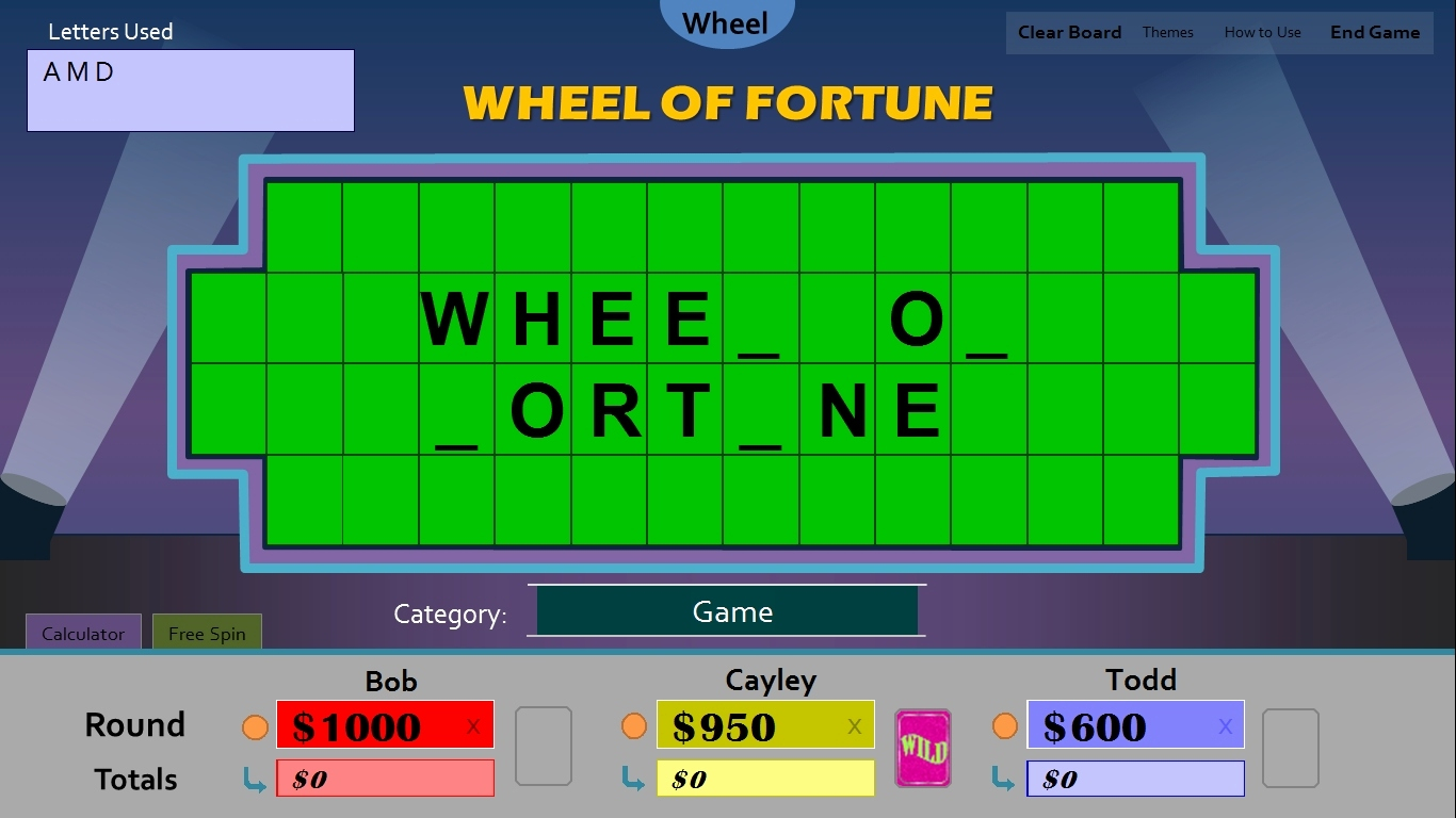 Wheel Of fortune Letter Board Template - Wheel fortune Board Template Board Game Templates Printable