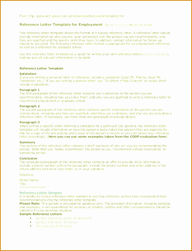 Personal reference letter template collection letter templates personal reference letter template writing a personal reference letter inspirational example a thecheapjerseys Choice Image