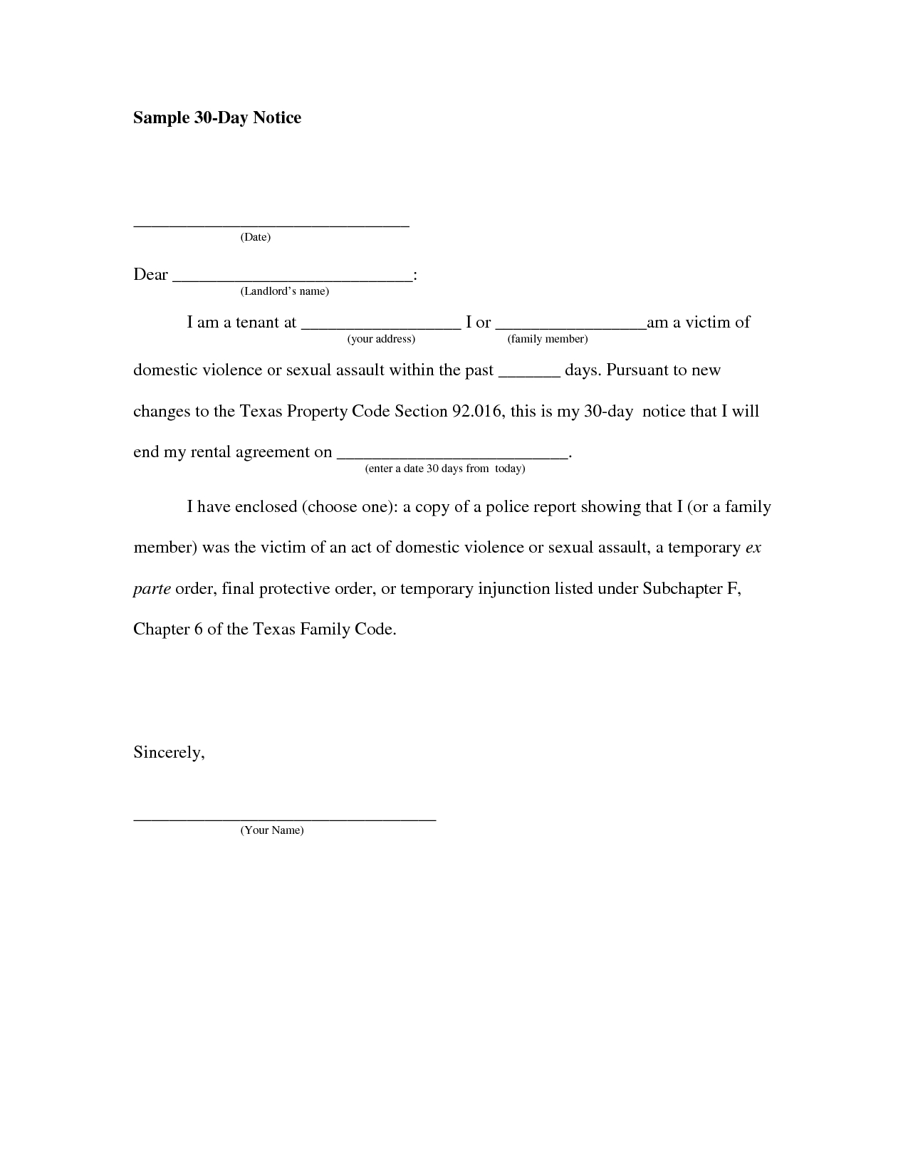 30 day notice to vacate letter to tenant template Collection-Written Notice To Vacate Apartment Template Latest Bestapartmenttent Leave Letter Sample 7-l